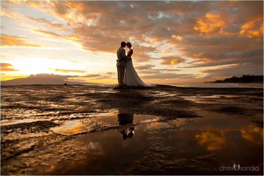 Maui Wedding Sunset Calendar