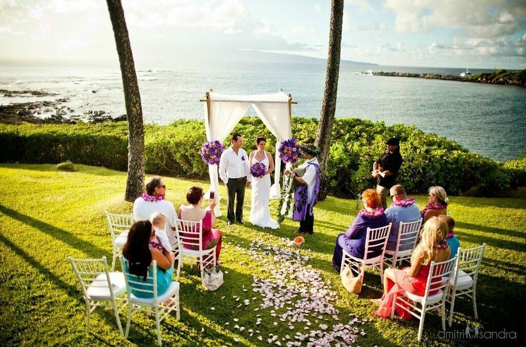 Merriman's Kapalua West Maui Wedding Location