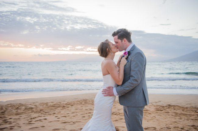 Intimate + Elegant Maui Beach Wedding