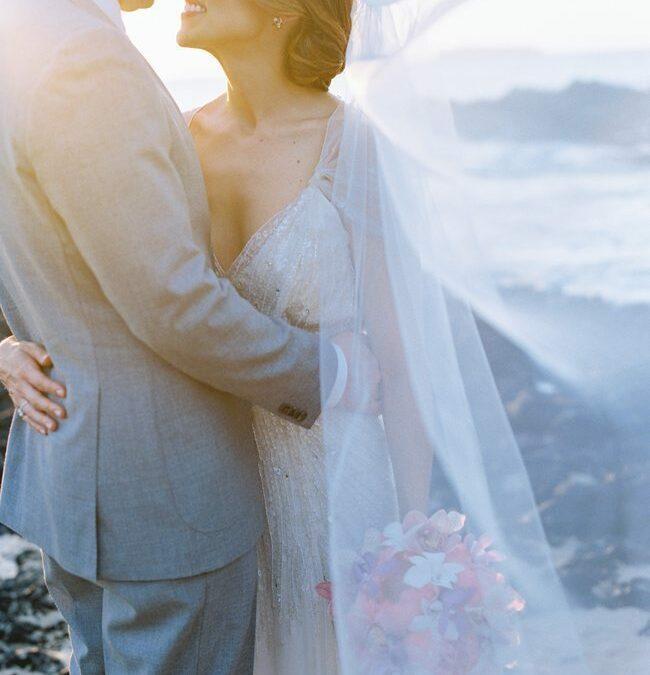 Intimate Maui Beach Wedding Elopement