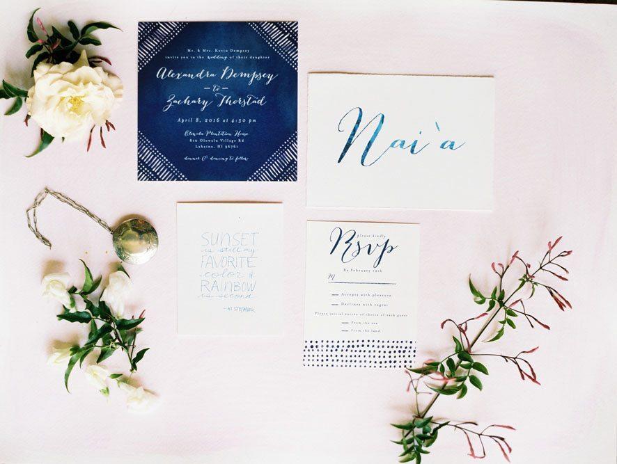 Customized wedding design Maui