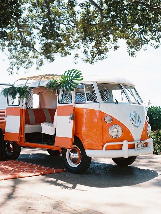 Maui wedding destination VW Van