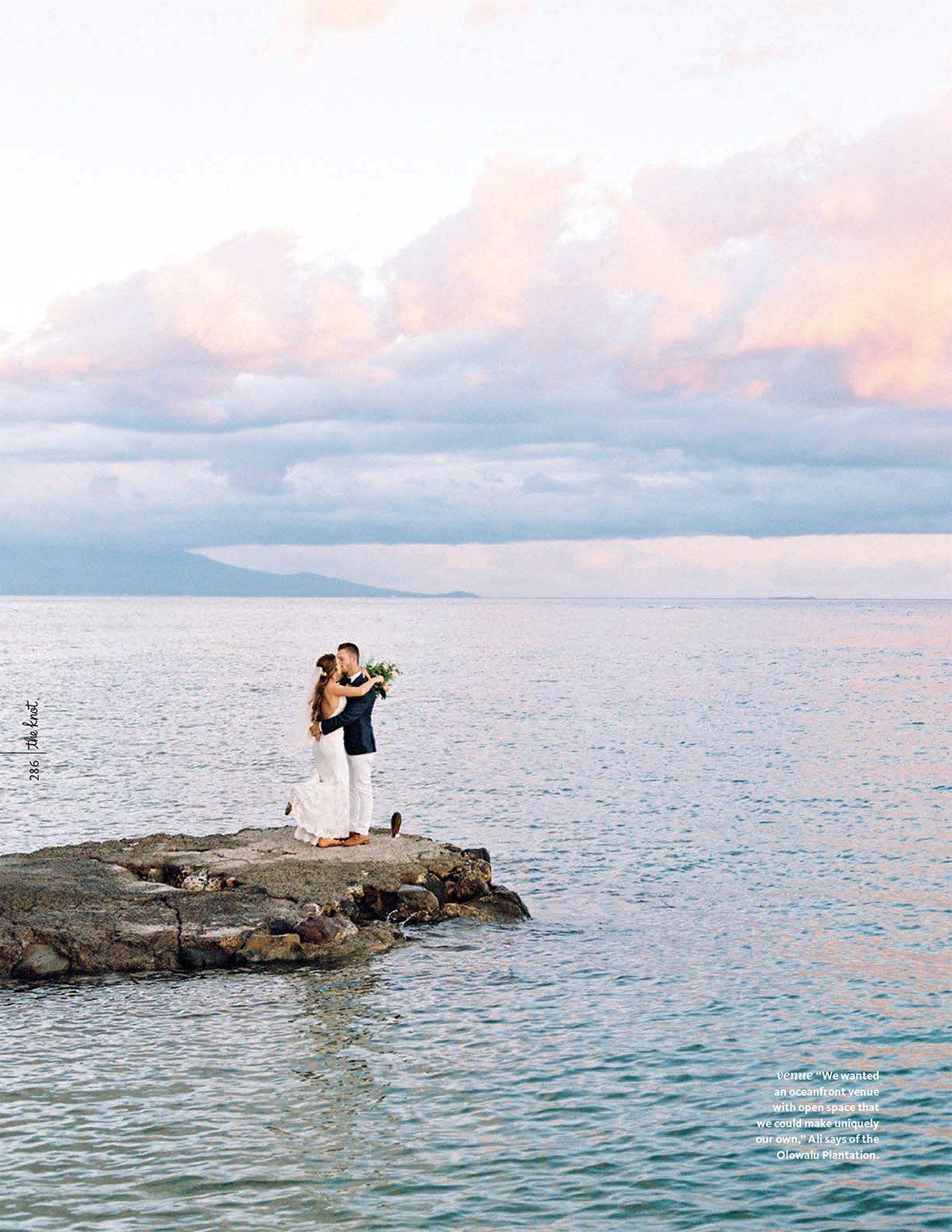 Destination wedding planner in Maui