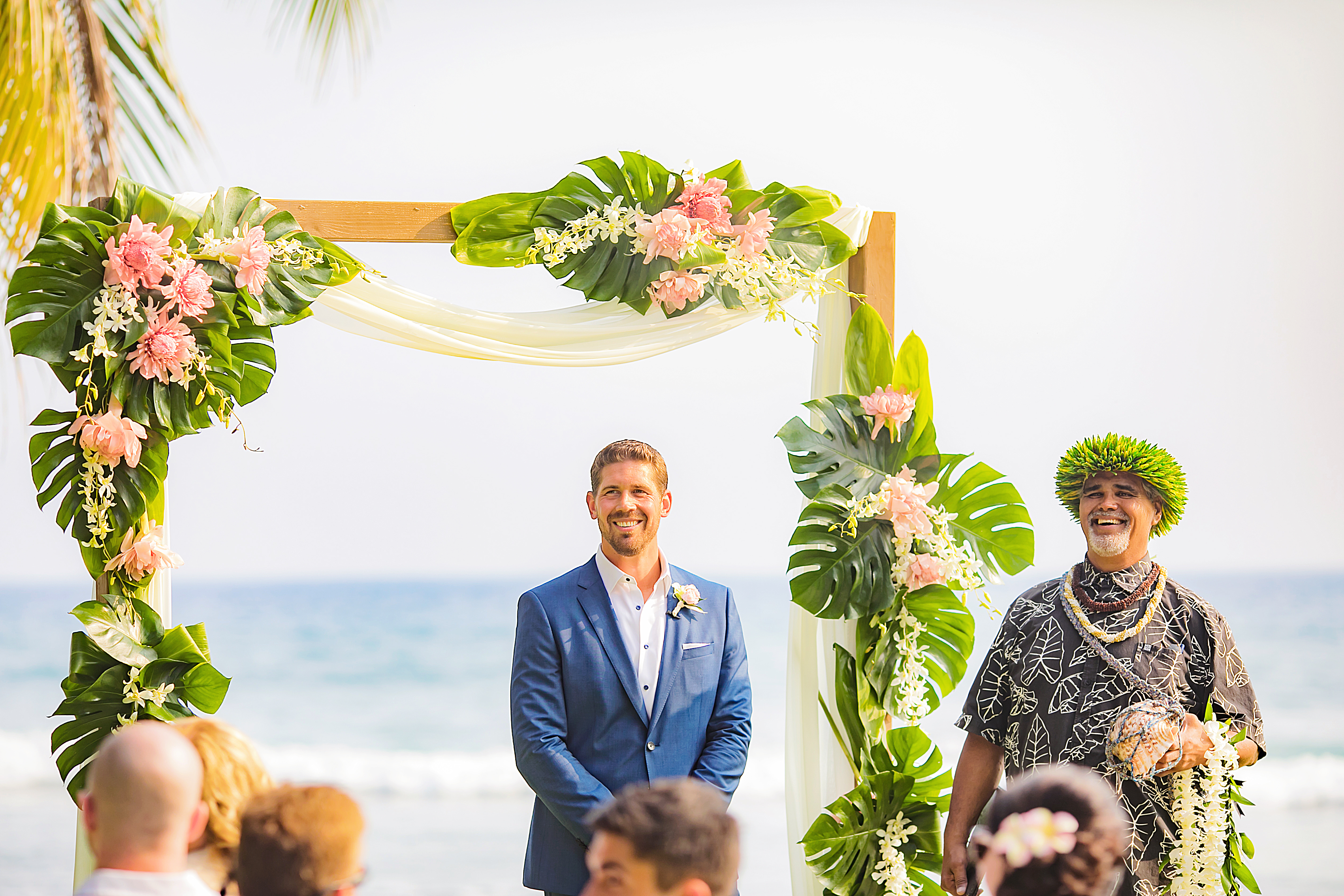 Maui Wedding Ceremony Arch | Destination Wedding in Maui | Maui Wedding Planner | Maui's Angels blog