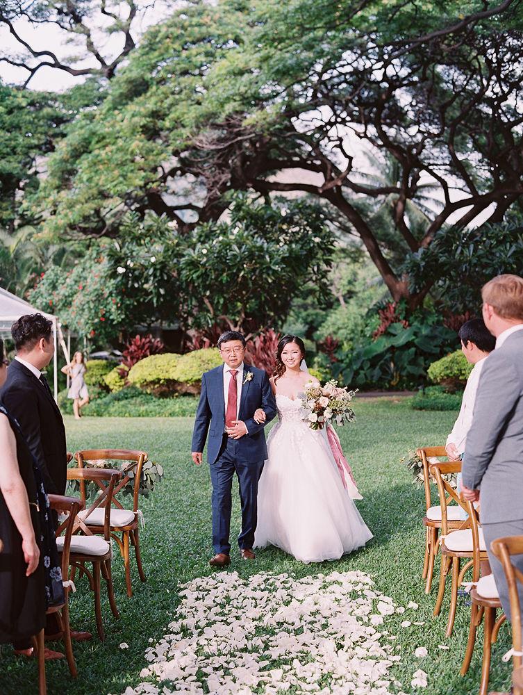 Romantic Maui Wedding Ceremony | Olowalu Plantation House | Maui Wedding Planner | Maui's Angels Blog