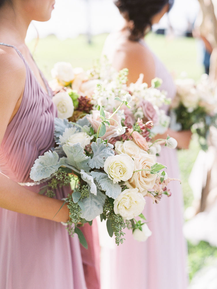 Bridesmaid Bouquet Teresa Sena | Olowalu Plantation House | Maui Wedding Planner | Maui's Angels Blog